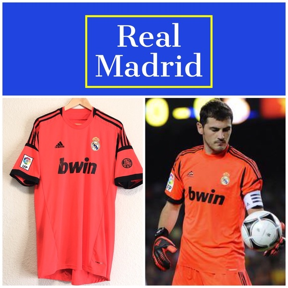 f21cdf013 adidas Other - Official Iker Casillas Real Madrid Adidas Jersey